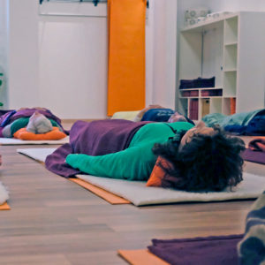 Tiefenentspannung im Satya Yoga Zentrum in Besse