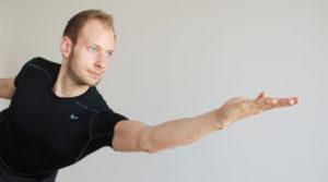 Reemt Bernert Krieger im Satya Yoga Zentrum in Besse