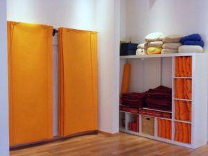 Hilfsmittel im Satya Yoga Zentrum in Besse