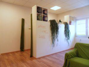 Umkleide im Satya Yoga Zentrum in Besse