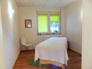 Massageraum im Satya Yoga Zentrum in Besse