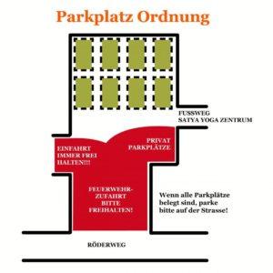Parkplatzordnung